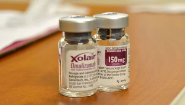 Xolair Allergic Asthma Medication